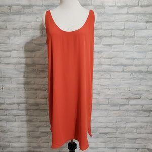 Loft slip dress NWT